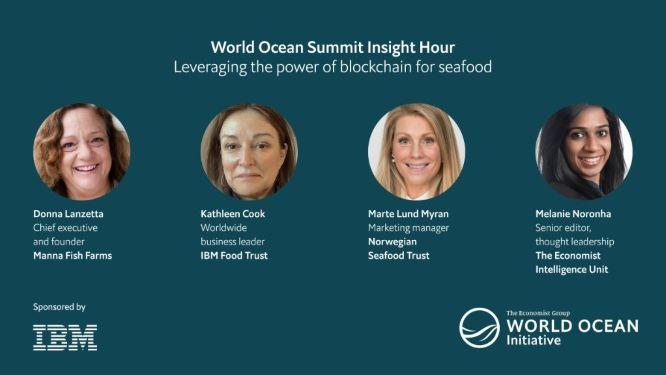 Norwegian Seafood Trust participates in The Economist's World Ocean Summit Insight Hour